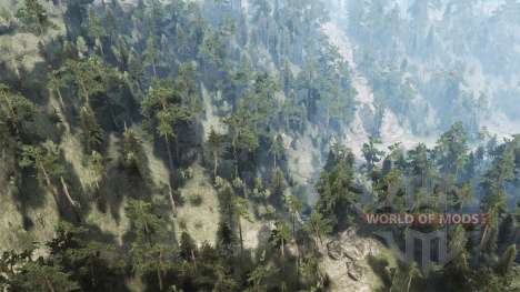 Black House Mountain for Spintires MudRunner