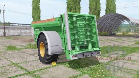 JOSKIN Tornado3 single axle for Farming Simulator 2017