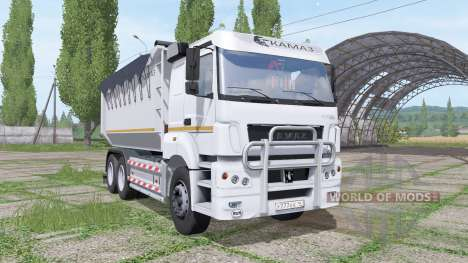 KAMAZ-65802 for Farming Simulator 2017