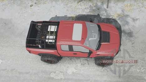 Ford F-150 Raptor v1.1 for Spintires MudRunner