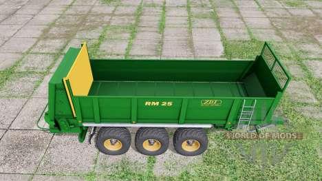 ZDT RM 25 for Farming Simulator 2017
