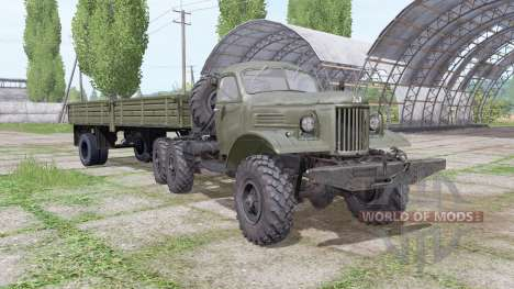 ZIL 157КДВ 1978 for Farming Simulator 2017
