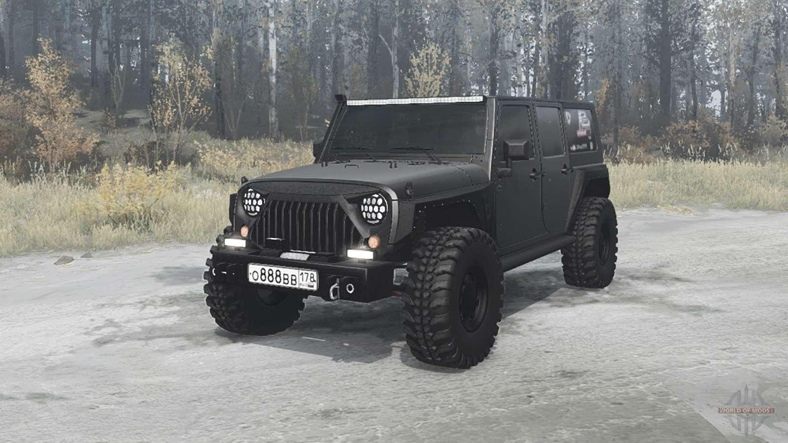Jeep Jk Mods >> Jeep Wrangler Unlimited Rubicon Jk Off Road For Mudrunner