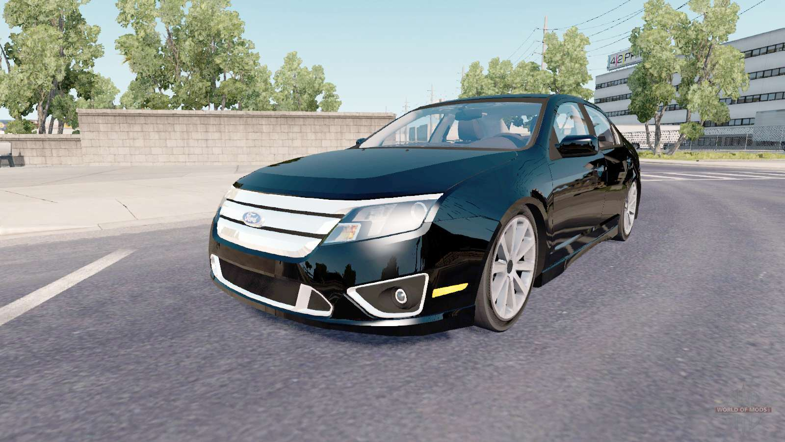 Ford Fusion Mods >> Ford Fusion Sport Cd338 2009 For American Truck Simulator