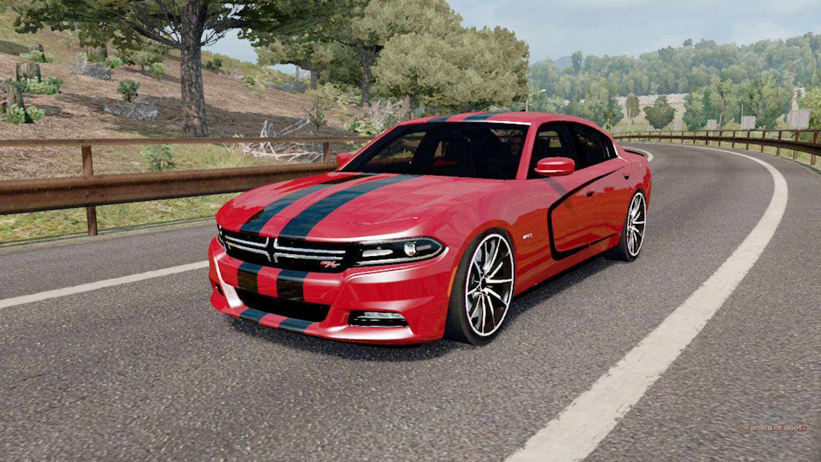 Charger Rt Awd >> Dodge Charger RT (LD) 2016 for Euro Truck Simulator 2