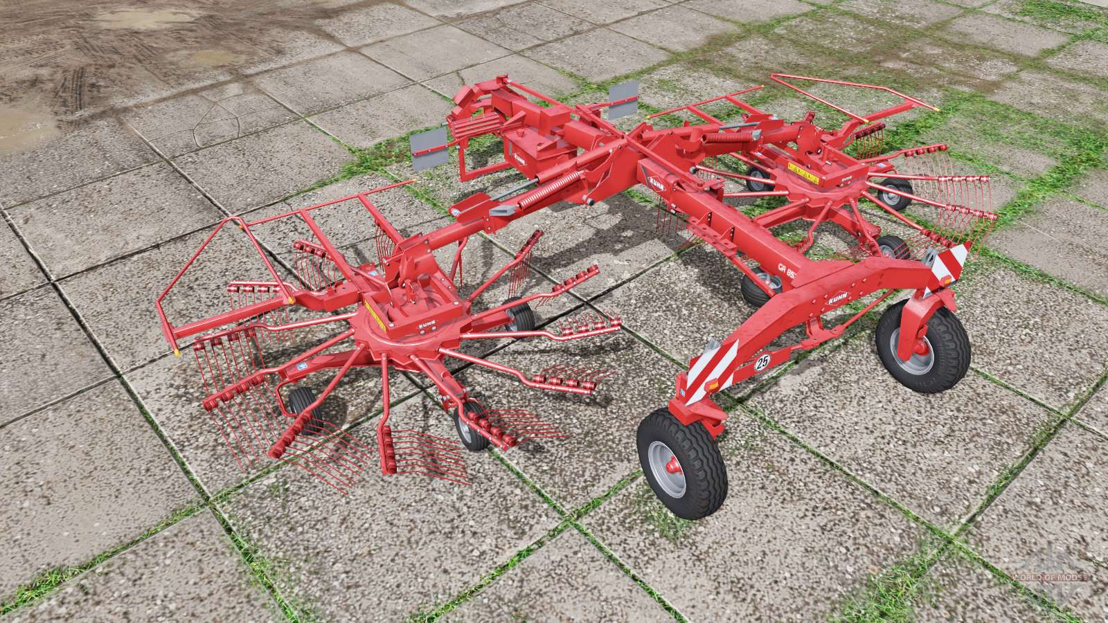 Kuhn GA 8521 for Farming Simulator 2017