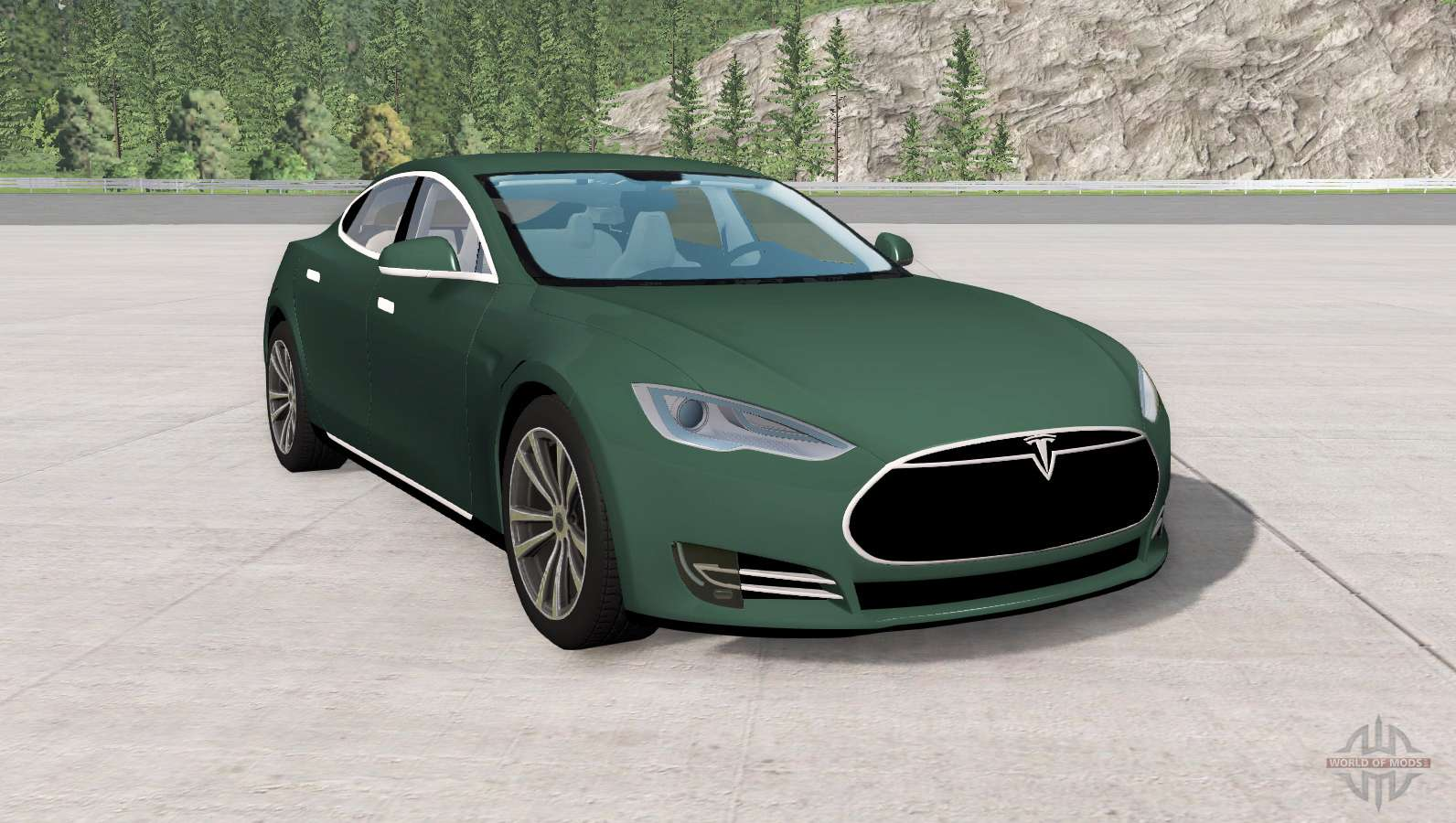 Tesla Model 3 Awd >> Tesla Model S for BeamNG Drive