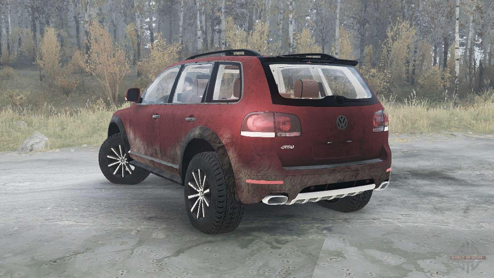volkswagen touareg r50 typ 7l 2007 for mudrunner. Black Bedroom Furniture Sets. Home Design Ideas