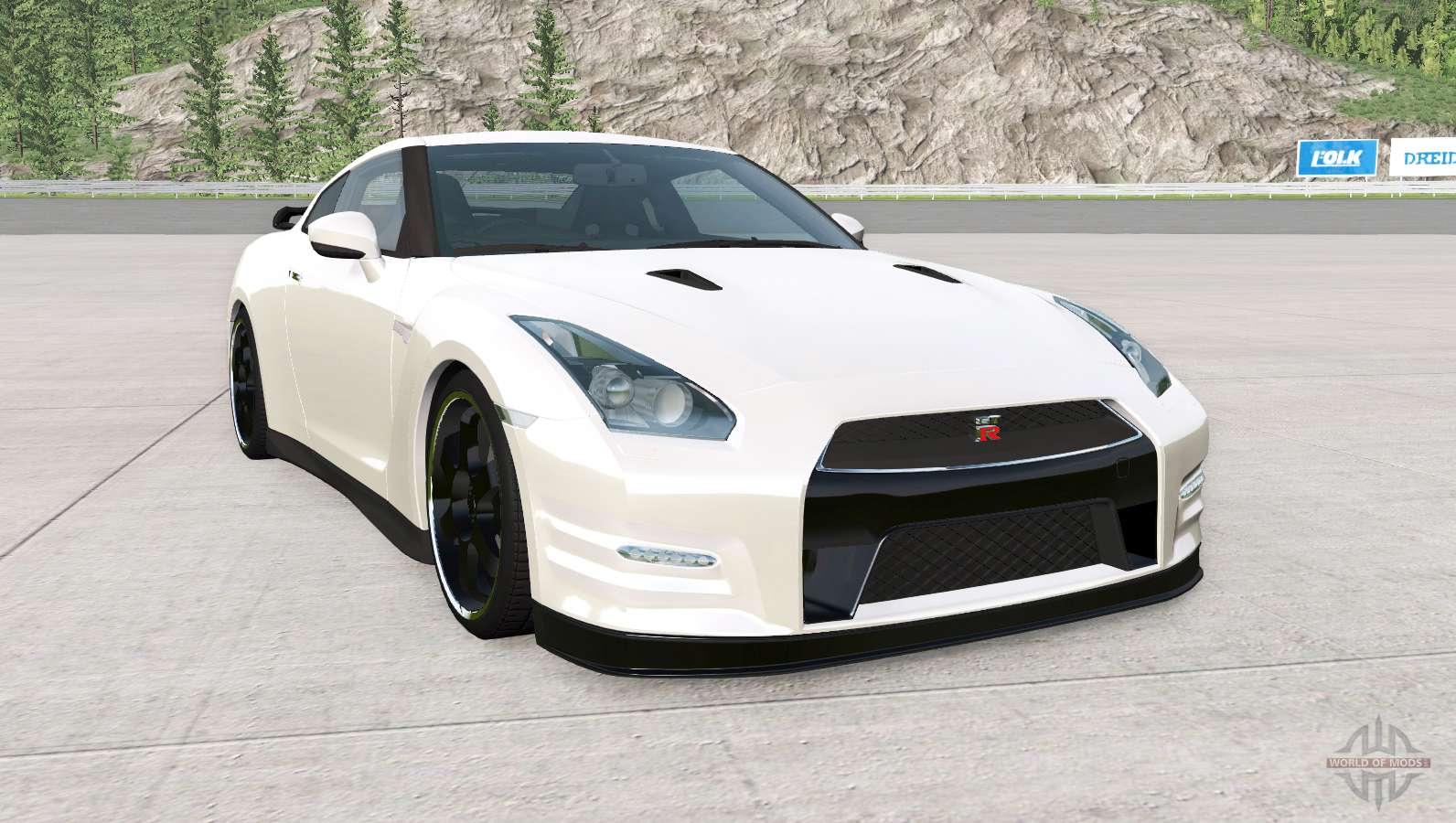 Nissan GT-R Egoist (R35) 2011 for BeamNG Drive
