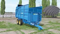 Harry West 10t silage v1.1.1 for Farming Simulator 2017