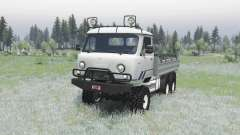 UAZ 452ДГ for Spin Tires
