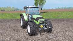 Deutz-Fahr Agrotron K 420 front loader for Farming Simulator 2015