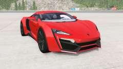 W Motors Lykan HyperSport 2014 for BeamNG Drive