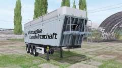 MENCI SA 850 R Virtuelle Landwirtschaft v2.0 for Farming Simulator 2017