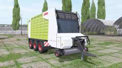 CLAAS Cargos 9500 for Farming Simulator 2017
