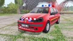 Renault Clio 2003 Pompier