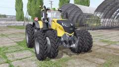 Challenger 1050 Vario double wheels for Farming Simulator 2017