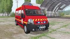 Renault Master 2003 Pompier for Farming Simulator 2017