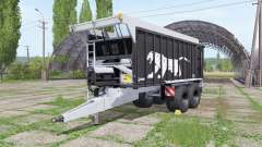 Fliegl ASW 271 Black Panther v1.4 for Farming Simulator 2017