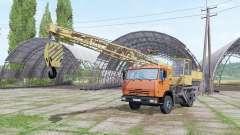 KAMAZ 43255 crane