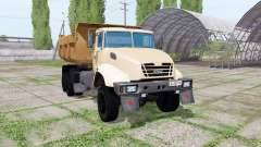 KrAZ C18.1 2011 v1.2 for Farming Simulator 2017