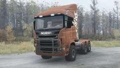 Scania R730 for MudRunner