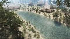 Brook Landscape for MudRunner