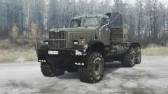 KrAZ 258Б Phantom for MudRunner