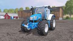 New Holland T6.160 frоnt loader for Farming Simulator 2015