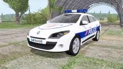 Renault Megane Estate 2009 Police Nationale v2.0 for Farming Simulator 2017