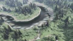 Mountain streams for Spin Tires