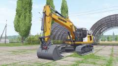 Liebherr R 936 Litronic for Farming Simulator 2017