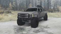 Chevrolet Silverado 2500 HD Crew Cab (GMT911) for MudRunner
