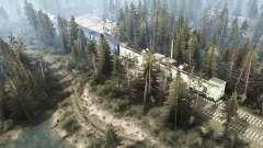 Near the railroad for MudRunner