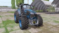 Deutz-Fahr Agrotron 9340 TTV blau design for Farming Simulator 2017