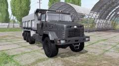 KrAZ 7140С6 for Farming Simulator 2017