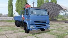 KAMAZ 65117-773010-19 CMU Palfinger for Farming Simulator 2017