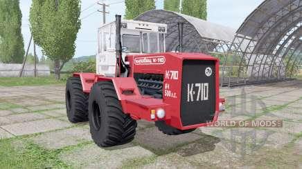 Kirovec K 710 v1.4 for Farming Simulator 2017