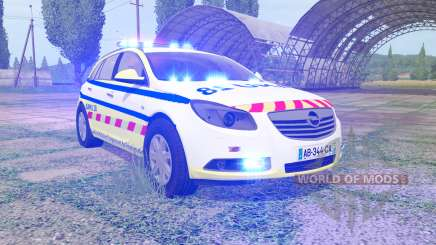 Opel Insignia Sports Tourer 2008 SAMU for Farming Simulator 2017