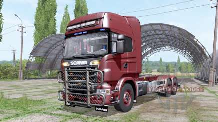 Scania R730 V8 Topline hooklift v1.0.4.4 for Farming Simulator 2017
