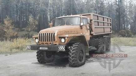 Ural 5557 for MudRunner