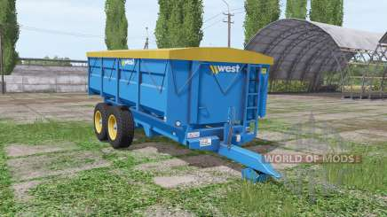 Harry West 10t grain v1.1.1 for Farming Simulator 2017