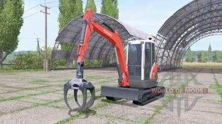 Kubota KX71-3 v2.0 for Farming Simulator 2017