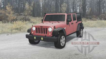 Jeep Wrangler Unlimited Rubicon (JK) 2006 for MudRunner