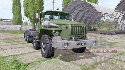 Ural 6614 is a loader for Farming Simulator 2017