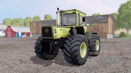 Mercedes-Benz Trac 1600 Turbo front loader for Farming Simulator 2015