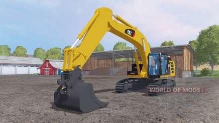 Caterpillar 329E LN for Farming Simulator 2015