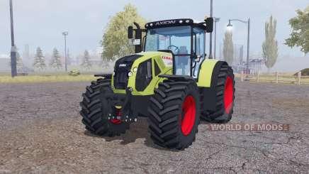 CLAAS Axion 950 green for Farming Simulator 2013