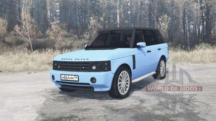 Land Rover Range Rover Sport (L320) Pontorezka for MudRunner