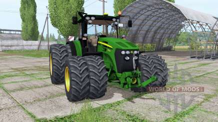 John Deere 7930 twin wheels Trelleborg for Farming Simulator 2017